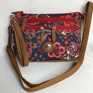 Stone Mountain quilted purse